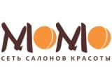 Логотип Момо, сеть салонов красоты
