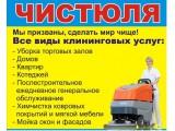 """Логотип (А) Клининговая компания """"ЧИСТЮЛЯ"""", ООО"""