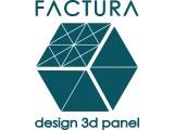 Логотип FACTURA 3д панели