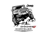 Логотип Запчасти Chrysler, Dodge, Jeep