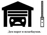 Логотип ДОМ ВОРОТ И ШЛАГБАУМОВ, ООО